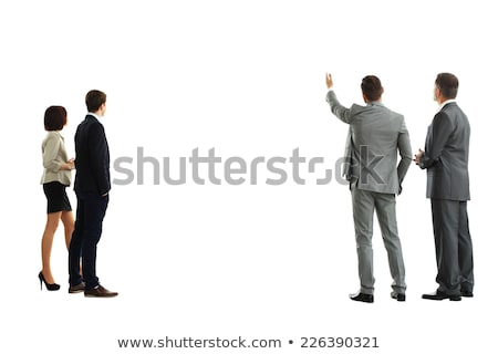 Smart business executive turning back Stock photo © stockyimages