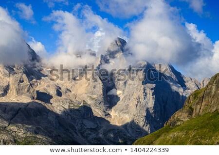 Dolomiti - Marmolada and Vernel mount Stock photo © Antonio-S