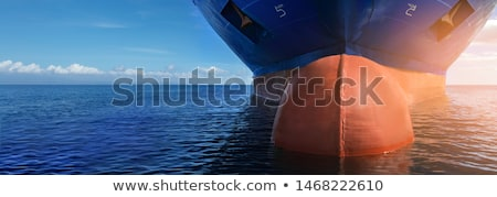 Vessel in a sea Stock photo © Nobilior
