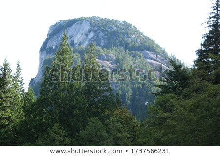 Big Chief Mountain In Clouds Stock photo © searagen