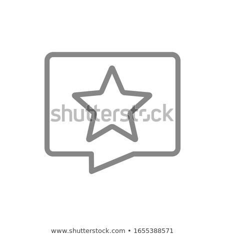 Emberek arc érzelmek ikonok párbeszéd szövegbuborékok Stock fotó © kiddaikiddee