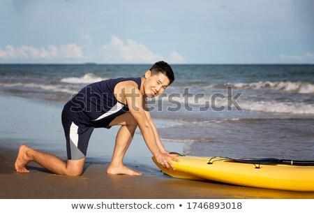 jonge · sport · man · fitness - stockfoto © iko