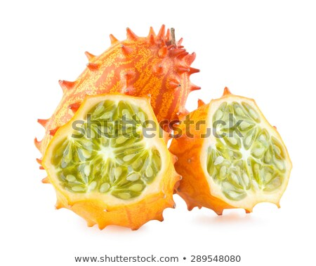 cucumis metulifera   kiwano   horned melon stock photo © shawnhempel