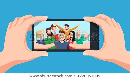 androide · blanco · tecnología · teléfono · comunicación - foto stock © stevanovicigor