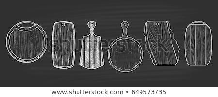 мяса · иллюстрация · бекон - Сток-фото © konturvid