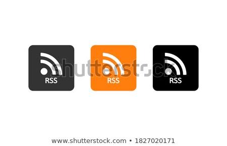 Wifi jel ikon fényes zöld gomb Stock fotó © faysalfarhan