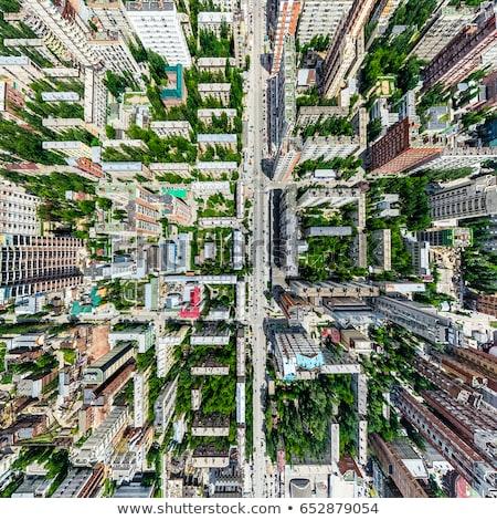 estradas · casas · estacionamento - foto stock © slunicko