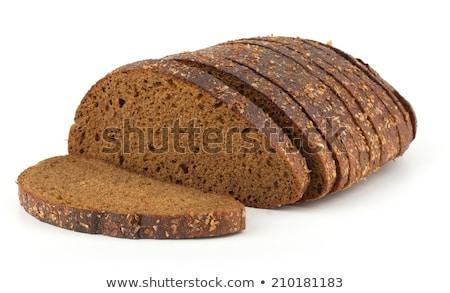 Tasty Rye Bread Isolated on White Background Stock photo © ozgur