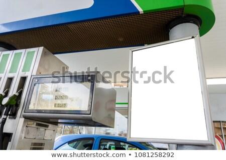 Gasoline station panel Stock photo © ldambies