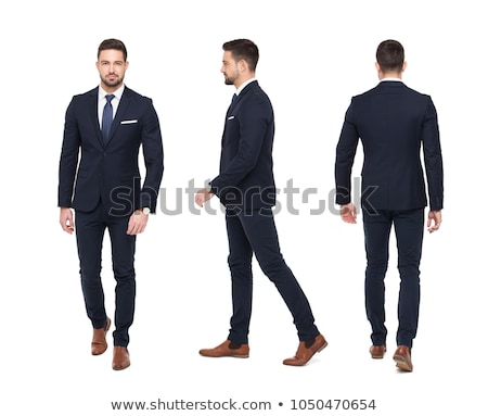 business man walking side stock photo © fuzzbones0