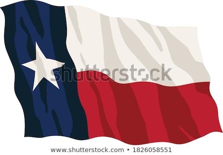 us star flag horizontal stock photo © tintin75