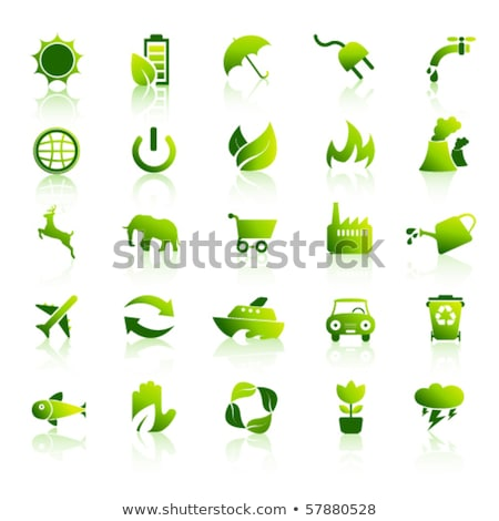 apple lightbulb concept of green energy stock photo © michaklootwijk