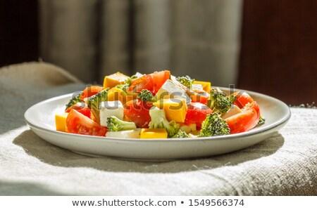 Vegetable side salad Stock photo © Digifoodstock
