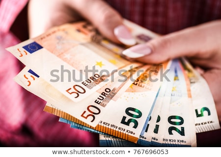 Imprenditore banca offrendo soldi prestito euro Foto d'archivio © stevanovicigor