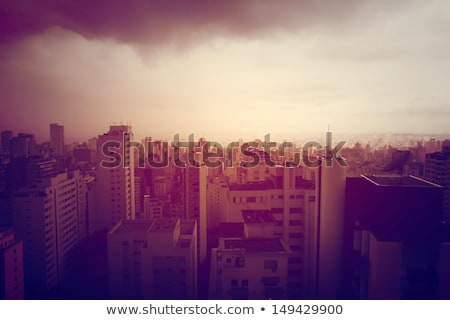 Pollution over the skyline of Sao Paulo	 Stock photo © Spectral