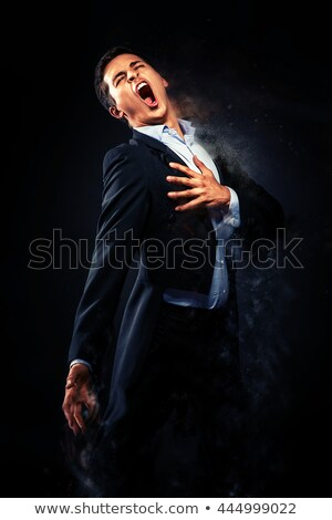 Opera singer performing. Image with a digital effects Stock photo © amok
