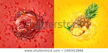 Fresh pomegranate juice Stock photo © Lana_M