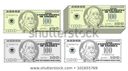 Sahte para fatura clipart görüntü kâğıt Stok fotoğraf © vectorworks51