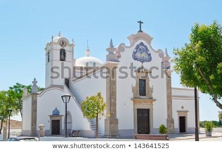 教会 ポルトガル 塔 青空 青 旅行 ストックフォト © compuinfoto