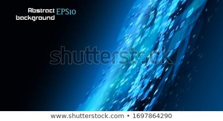 Lines with bokeh defocused lights. EPS 10 Stock photo © beholdereye