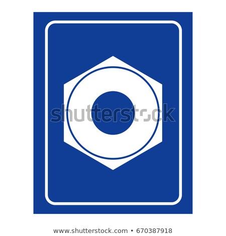 Kadın vida kadınlar oda ikon logo Stok fotoğraf © MaryValery