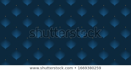 awesome diwali wallpaper background with paisley pattern Stock photo © SArts
