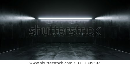 frame · angolo · buio · interni · rendering · 3d · muro - foto d'archivio © fotoyou