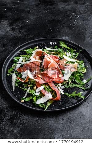 arugula salad with ham Stock photo © Digifoodstock