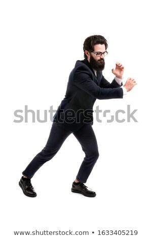 портрет бизнесмен невидимый веревку Сток-фото © wavebreak_media