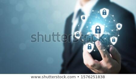 блокировка · слово · тайну · личные · чувствительный · информации - Сток-фото © tashatuvango