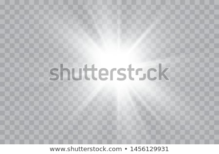 set of vector suns on transparent Stock photo © romvo