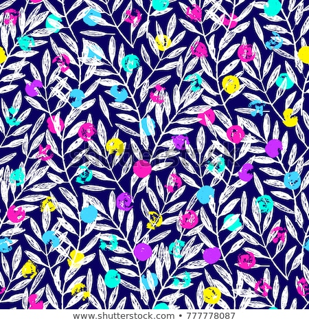 fern seamless pattern ultra violet vector illustration stock photo © gladiolus