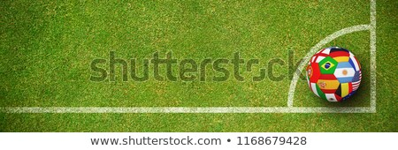 3d · mensen · voetbal · witte · business · man · ontwerp - stockfoto © wavebreak_media
