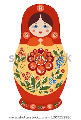 русский кукла игрушку традиционный игрушками Сток-фото © popaukropa