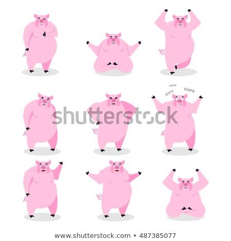Evil Little Boar Stock photo © cthoman