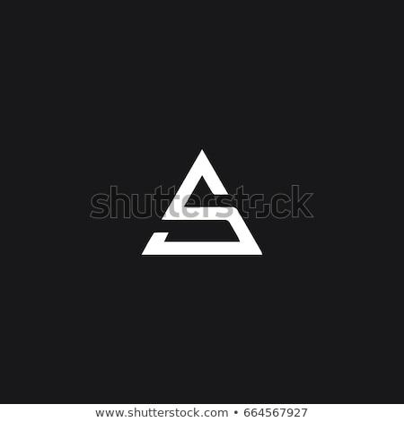 красочный письме логотип икона вектора элемент Сток-фото © blaskorizov