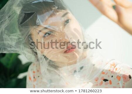retrato · fantasia · cyborg · menina · mulheres · sensual - foto stock © solarseven