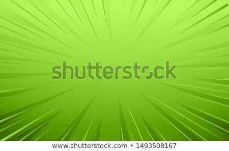 Zöld képregény zoom vonalak textúra könyv Stock fotó © SArts