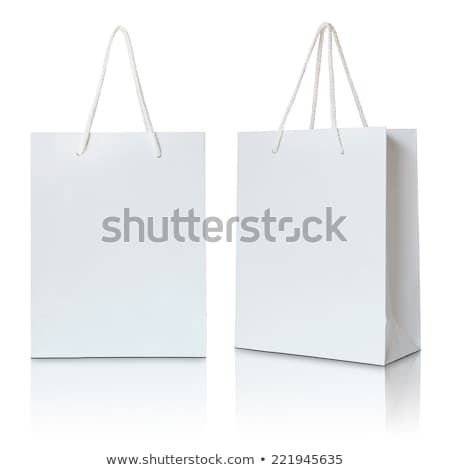 Blank empty white paper packaging Foto stock © netkov1