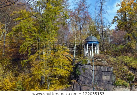 парка весны лес путешествия Spa Европа Сток-фото © borisb17