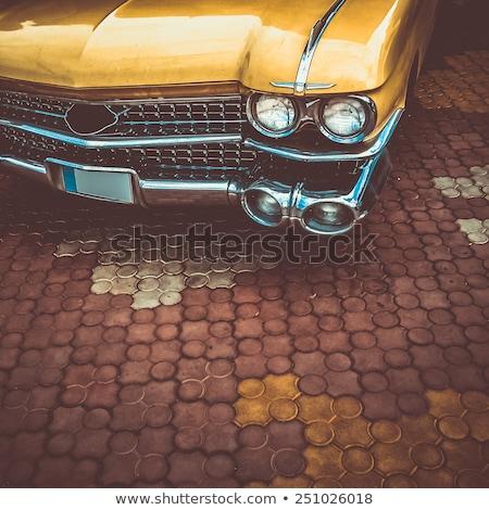 Vecchia macchina vecchio sport rosso Foto d'archivio © andreasberheide