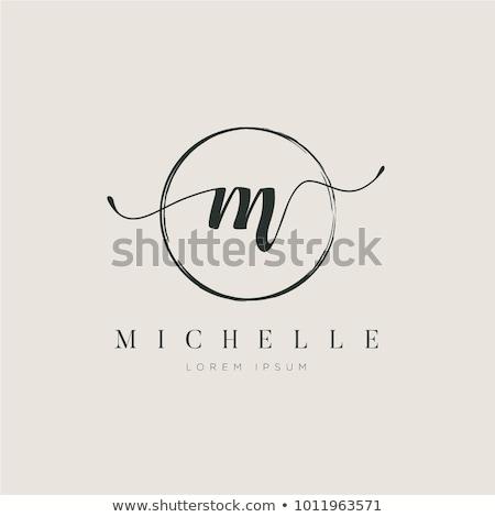 Logo név terv vállalat logotípus ikon Stock fotó © robuart