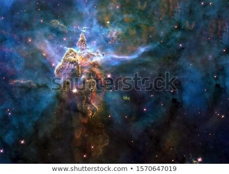Dust Pillars in the Carina Nebula. Stock photo © NASA_images