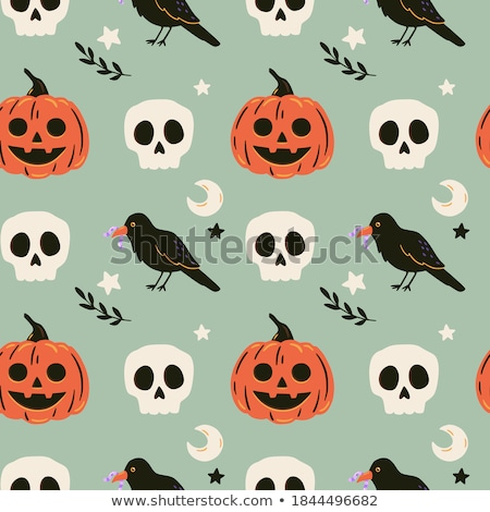 mutlu · halloween · korkutucu · korku · süs - stok fotoğraf © balabolka