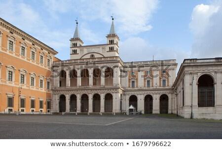 Rome · Retour · côté · cathédrale · église · officielle - photo stock © borisb17