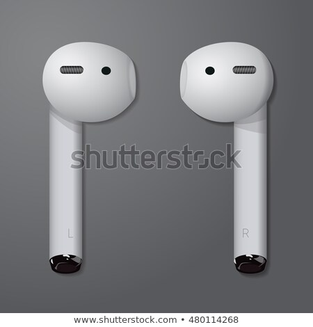Melomane Audio Device Wireless Headphones Vector Stock photo © pikepicture