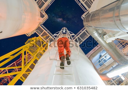 Worker Inspecting Pipes Stock photo © AndreyPopov