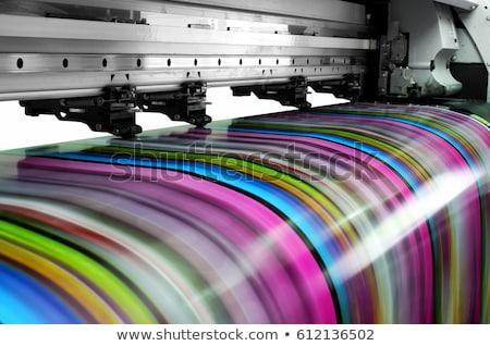 современных струйные принтер столе Top Сток-фото © magraphics