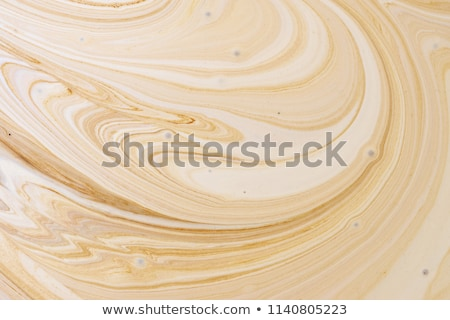 Coffee Froth Bubbles Stock photo © Frankljr