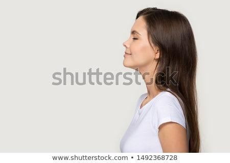 Moda femenino retrato cara amor Foto stock © ESSL